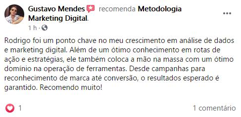 Avaliação Metodologia Gustavo Mendes