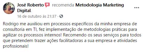 Maratona Metodologia Marketing Digital Avaliação José Roberto