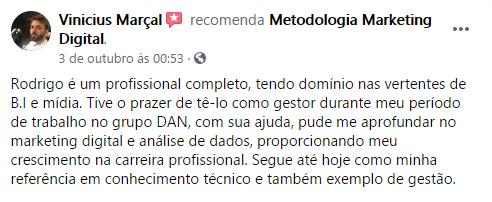 Vinicius Marçal Maratona Metodologia Marketing Digital